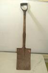 Square edged shovel