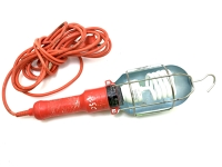 Work-Light - in Metal Cage