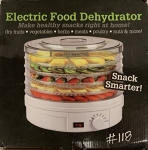 Electric Food Dehydrator: 245W