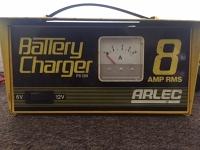 6/12v 8 amp battery charger