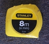 8-metre measuring tape