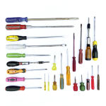 Phillips Head Screwdriver - Red bulbous handle