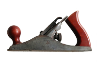 Wood Plane - Steel with Rosewood coloured handle