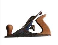 Wood Plane - Steel with Blonde wood coloured handle