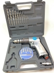 "Air Drill kit: TAURUS 3/8"", grey case"