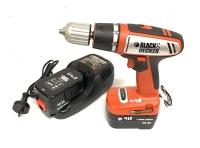 Cordless Hammer Drill: Black&Decker