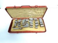 Socket Set: About 30 pieces
