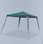 Portable gazebo - 2.4m x 2.4m - green