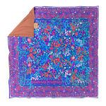 Picnic Rug: WOODFORDIA - Floral mandala