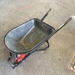 Wheelbarrow: SHERLOCK - Black rubber
