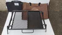 Campfire Grill & Portable Fire Shield: PIONEER