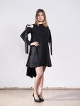 Asymmetrisches Kleid Dana Dinu