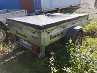 Brenderup 1205S - tilhenger 750 Kg med brems