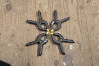 Spring clamps (set of 4)