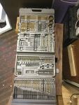 150+ Piece Drill Bit and Accessory Set (Countersink, Adaptor, Punch, Drill Gauge)