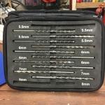10 Pieces Masonry Drill Bit set