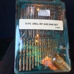 75 Piece Drill Bit set