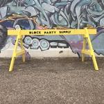 Street barricade - 8 feet
