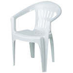 Plastic Stacking Patio Chairs [10 chairs]