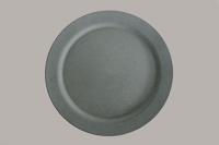 "Reusable Bamboo Plate - 10"" Grey x 25"