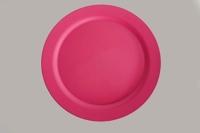 """Reusable Bamboo Plate - 10"""" Pink x 25"""