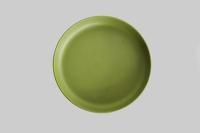 "Reusable 7"" Bamboo Plate - Green x 25"