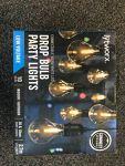 Drop bulb party lights-10m