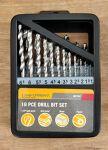 Drill Set - 19 pce metric - Craftright