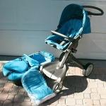 kinderwagen Stokke Xplory blauw
