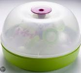 Béaba stoomsterilisator microgolfoven paars/groen