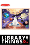Space Voyage Wooden Jigsaw Puzzle