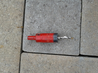 "1 inch Hole saw for 1/2"" drill"