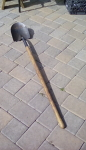 green handle shovel