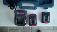 Bosch 18 v lithium+ battery for inventory #1532 DDS181 drill
