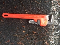 Pipe wrench heavy duty 14""