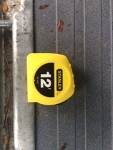 12 ft tape measure