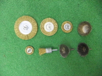 Wire Brush Drill Bits - 8 Pieces