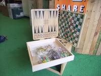 Wooden Compendium Board Games