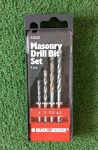 Masonry Drill Bit Set #9