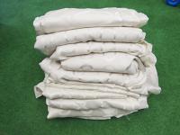 12 trestle table cloths