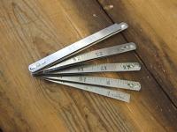 Folding Metal Ruler