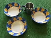 Camping Bowls + Mug