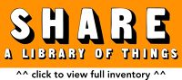 SHARE:Frome, Library of Things