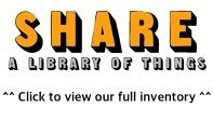 SHARE - A Library of Things in Frome, Somerset