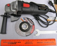 Angle grinder, 4 1/2 in