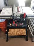 Craftsman table saw w/ stand
