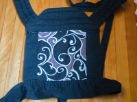 MD/BD - BabyHawk   Standard   black w/ blk swirls