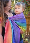 Butterfly Baby Sweet Shop Grey Weft Ring Sling