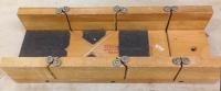 Boîte à onglet Stanley, en bois