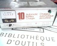 Chargeur de batterie 12V - 10A